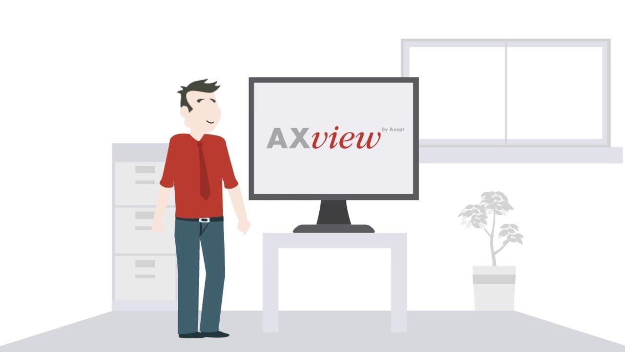 Screenshot Erklärvideo Software AXView