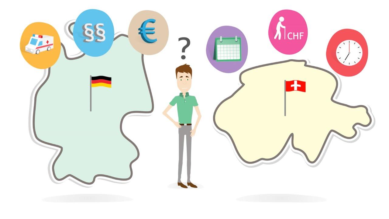 Screenshot Erklärvideo Grenzgängerforum Sparkassenversicherung