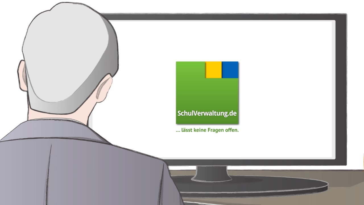 Screenshot Erklärvideo Wolters Kluwer Schulverwaltung.de