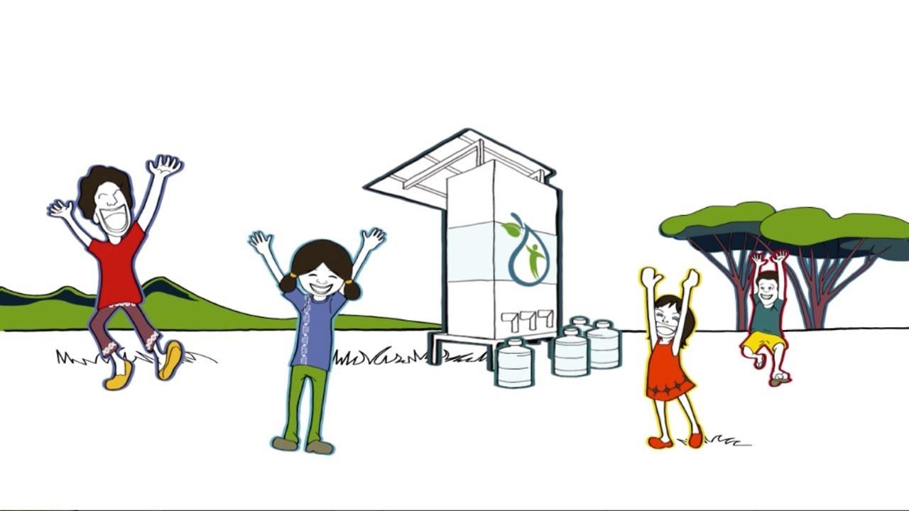 Screenshot Erklärvideo gemeinnützig LivingWater